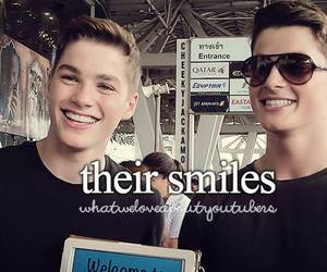 smile, jack harries, and boy image