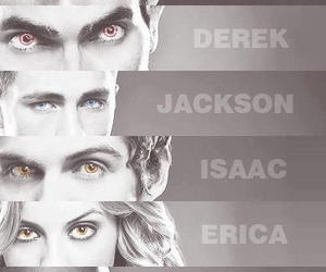 teen wolf, derek, and scott image