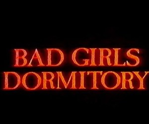 bad girls and text image