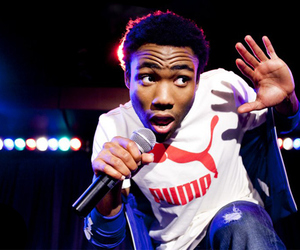 community, rapper, and childish gambino image