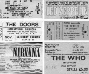 nirvana, the who, and the doors image
