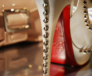 christian louboutin, shoes, and studs image