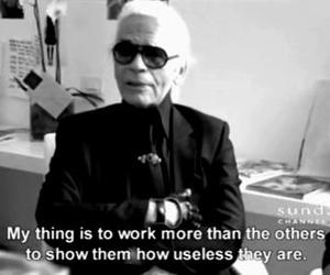 karl lagerfeld, quotes, and chanel image