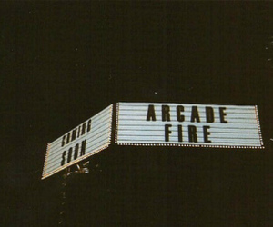 arcade fire, indie, and light image