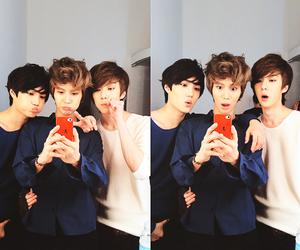 exo-k, exo, and SHINee image
