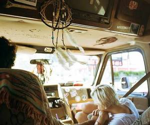 couple, indie, and hippie image