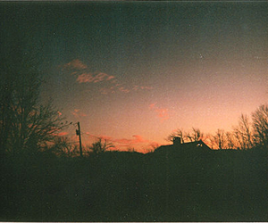 sunset, landscape, and indie image