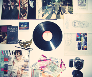 beatles, magazines, and things image