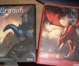 books, eragon, and inheritance cycle image