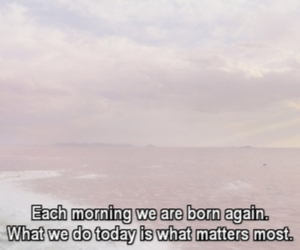 quote, life, and morning image