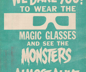 blue, magic, and monster image