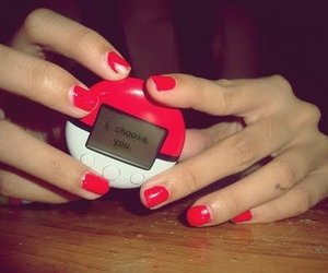 (:, pokeball, and girl image