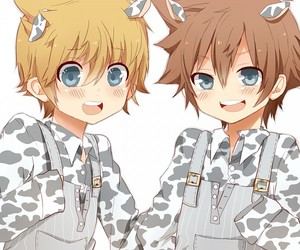 anime, chibi, and anime boy image