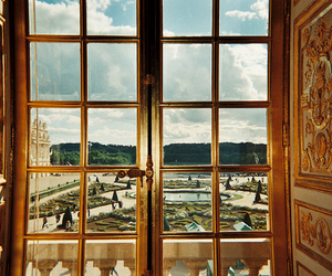 window, versailles, and france image