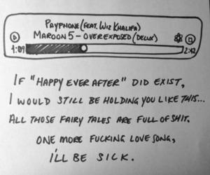 payphone, Lyrics, and maroon 5 image