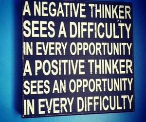 quote, positive, and thinker image