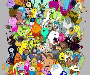 friends, JAKe, and adventure time image