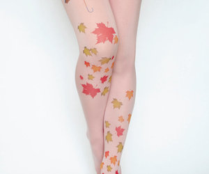 fashion, tattoo, and pantyhose image