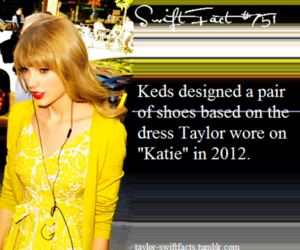 keds and Taylor Swift image