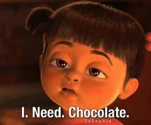 chocolate, need, and boo image