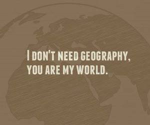 black and white, geography, and text image