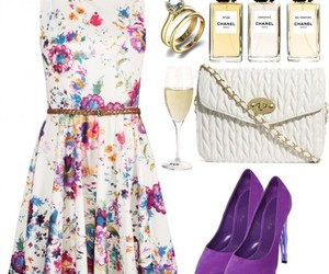 asos, floral, and dress image