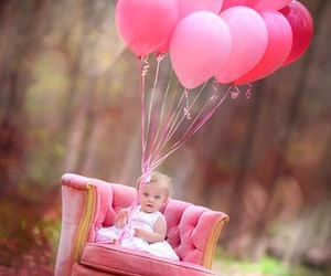 balloons, nature, and love image