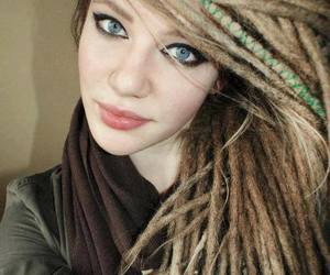 dreadlocks, hairstyle, and women image