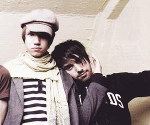 jon walker, panic! at the disco, and ryan ross image