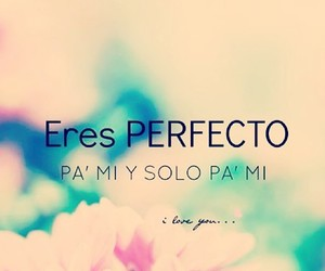 love and perfecto image