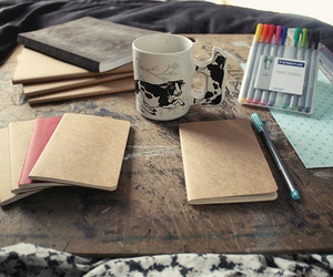 notebooks and photography image