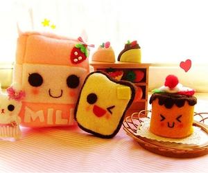 kawaii and milk image
