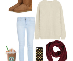 case, outfit, and uggs australia image