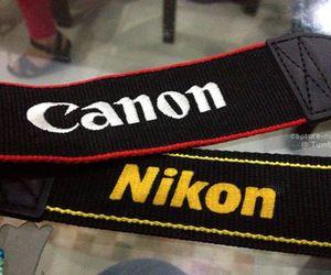 canon and nikon image