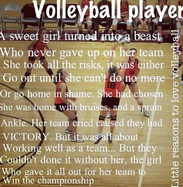Volleyball Quotes | 52 Images About Volleyball Quotes On We Heart It See More About