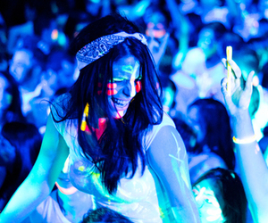 party and neon image