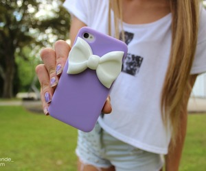 case, iphone, and purple image