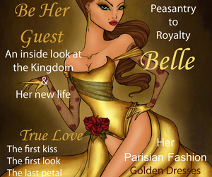 ariel, beauty, and belle image