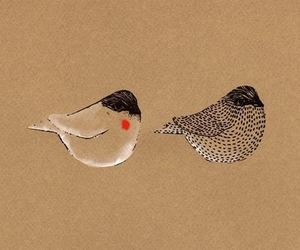 etsy, print, and birds image