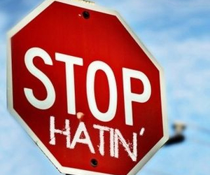 hate and stop image