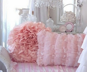 pink, pillow, and decor image