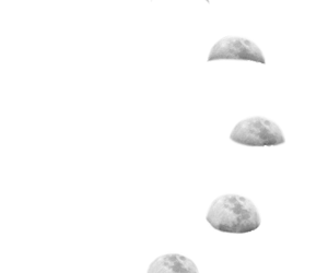 moon, overlay, and transparent image