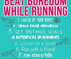 fitness, running, and workout image