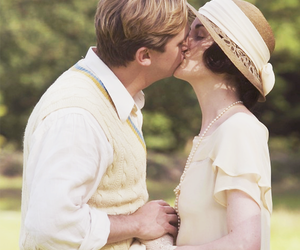dan stevens, downton abbey, and matthew crawley image