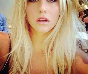 kesha and blonde image