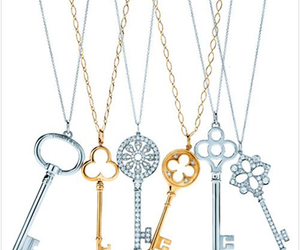 key, necklaces, and tiffany and co image
