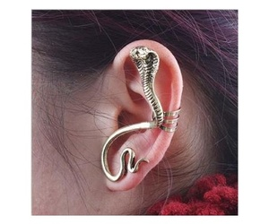 snake, earrings, and jewelry image