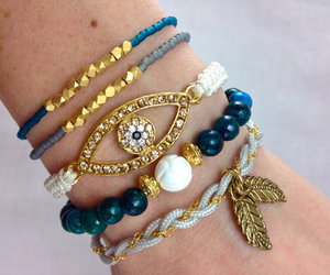 arm candy, boho, and jewelry image