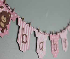 banner and baby shower image