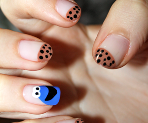 cookie, nails, and cute image